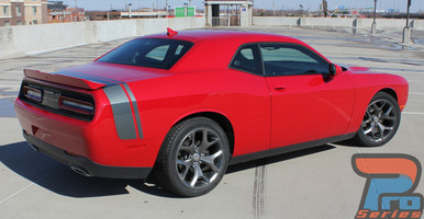 Dodge Challenger Stripe Options TAIL BAND 3M 2015-2017 2018 2019