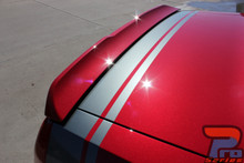 Dodge Challenger Rear Hellcat Decals TAIL BAND 2015 2016 2017 2018 2019