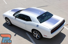 Shaker Hood Stripes for Dodge Challenger 3M SHAKER 2015-2019