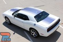 Shaker Hood Stripes for Dodge Challenger 3M SHAKER 2015-2019