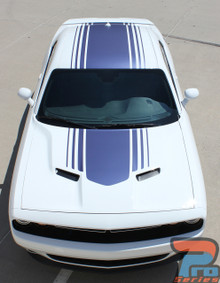 Shaker Stripes for Dodge Challenger 3M SHAKER 2015-2018 2019