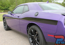 Yellow Jacket Stripes for Dodge Challenger ROADLINE 2008-2019