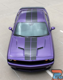 Blacktop Graphics for Dodge Challenger PULSE RALLY 3M 2008-2021