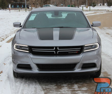 Dodge Charger Hood Graphics RECHARGE 15 HOOD 2015-2018 2019 2020 2021
