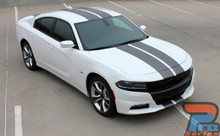 2015-2019 Dodge Charger RT Stripes Blacktop Edition N-CHARGE 15