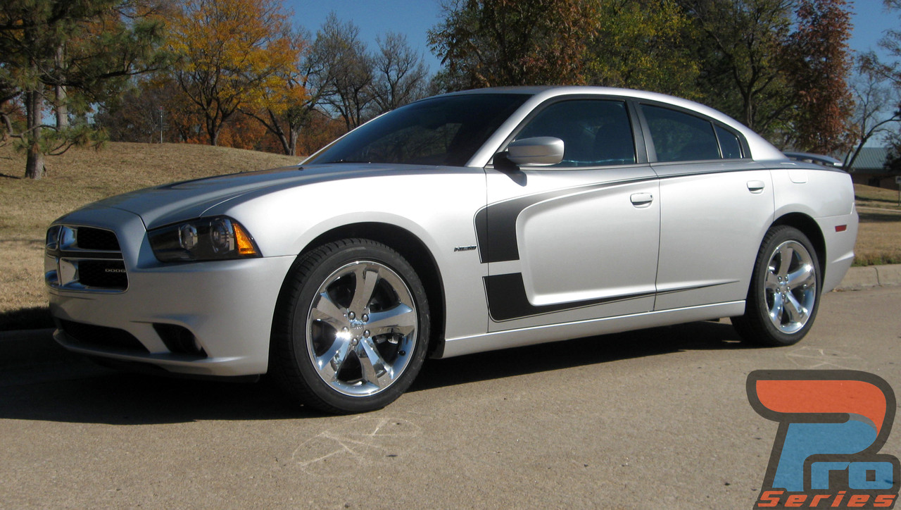 2011 2012 2013 2014 Dodge Charger RT SRT SXT Scallop Hood Stripes Graphics