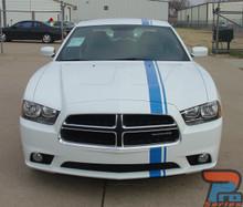 E RALLY | Dodge Charger Offset Euro Stripe Kit 3M 2011-2014