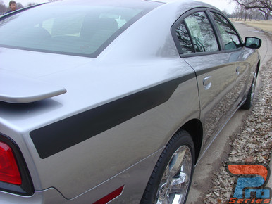 2012 Dodge Charger Hood Decals RECHARGE 2011 2012 2013 2014