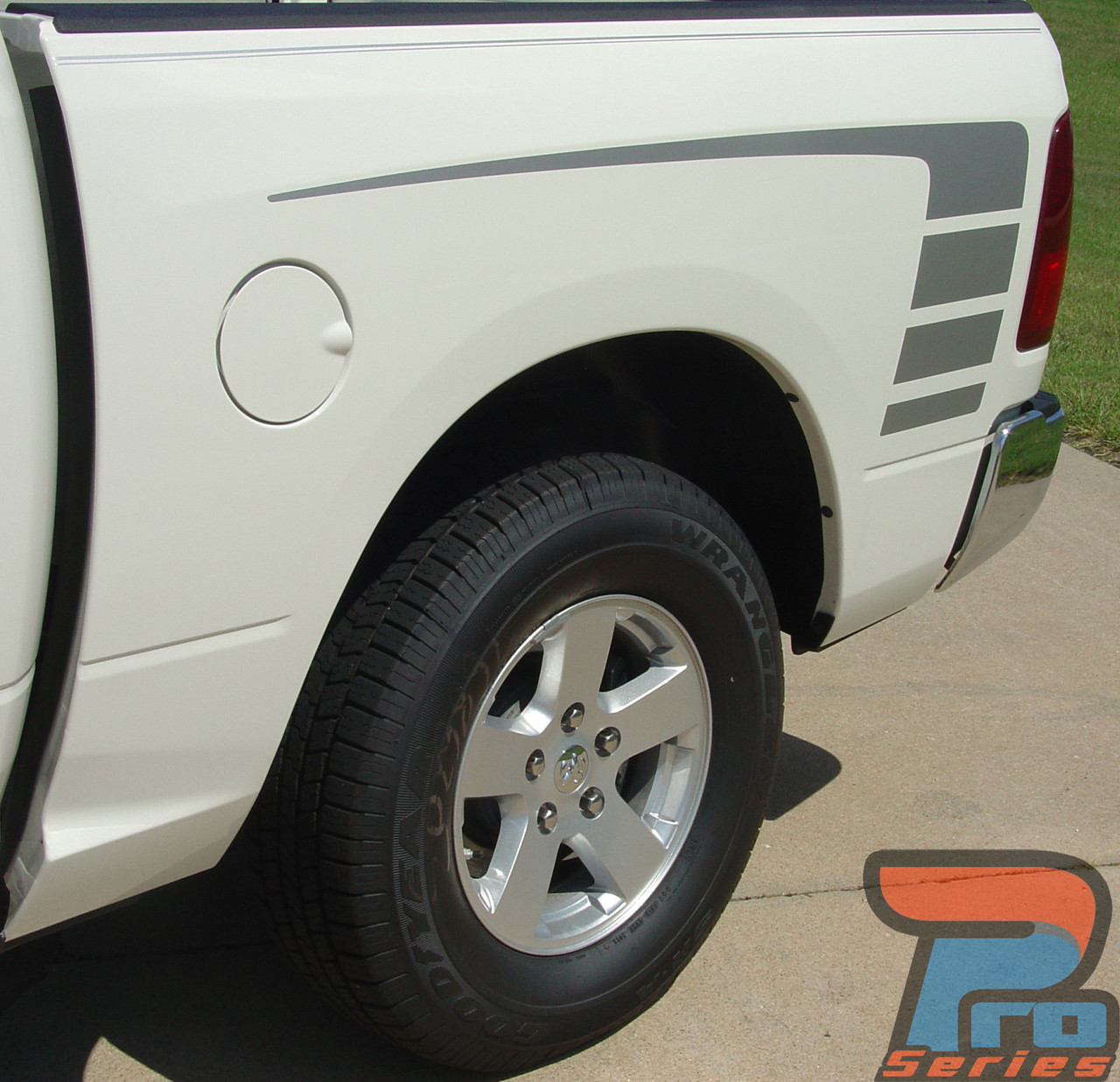 Factory Style Power Wagon Dodge Ram 1500 Stripes 2009 2018 And 2019 2021 Ram Classic