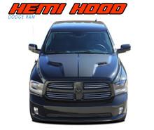Dodge Ram Hemi Decals HEMI HOOD 3M 2009-2016 2017 2018