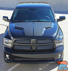 Dodge Ram 1500 Hood Decals HEMI HOOD 3M 2009-2015 2016 2017 2018