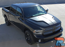 2018 Ram Rebel Hood Decals REBEL HEMI HOOD 2009-2019