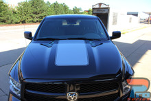 Hood Stripes for Dodge Ram RAM HOOD 2009-2015 2016 2017 2018