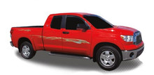 THRUSTER : Automotive Vinyl Graphics - Universal Fit Decal Stripes Kit - Pictured with TOYOTA TUNDRA (ILL-685)