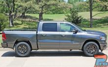 Dodge Ram Truck Side Stripes 2019 RAM EDGE SIDE Kit 2020 2021
