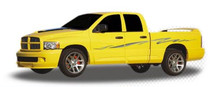 THRASHER : Automotive Vinyl Graphics - Universal Fit Decal Stripes Kit - Pictured with DODGE RAM 1500 (ILL-424)