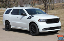 Dodge Durango Fender Decals DOUBLE BAR 3M 2011-2017 2018 2019