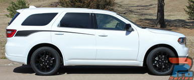 Dodge Durango Body Side Decals DURANGO PROPEL SIDE 2011-2019