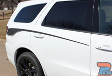 Dodge Durango Side Stripes Graphics PROPEL SIDE 2011-2018 2019