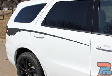 Dodge Durango Side Stripes Graphics PROPEL SIDE 2011-2018 2019