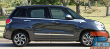 Fiat 500L Upper Side Stripes SIDEKICK 2014 2015 2016 2017 2018
