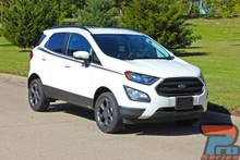Side Stripes on Ford EcoSport AMP SIDE Kit 2013-2017 2018 2019 2020