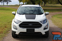 Hood Stripes for Ford EcoSport AMP HOOD Kit 2013-2017 2018 2019