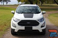 Hood Stripes for Ford EcoSport AMP HOOD Kit 2013-2017 2018 2019 2020