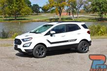 Ford EcoSport Vinyl Graphics FLYOVER Kit 2013-2016 2017 2018 2019 2020