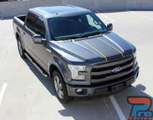 Ford F150 Truck Center Vinyl Wrap BORDERLINE 2015-2018 2019