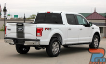 Ford F150 Truck Bed Decals CENTER STRIPE 2015-2017 2018 2019