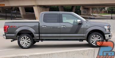 Side Digital Graphics for Ford Trucks 15 QUAKE 2015-2018 2019