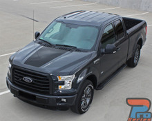 ROUTE HOOD | Ford F-150 Hood Decal Stripe Kit 3M 2015-2018