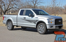 Side Vinyl Graphics for Ford F150 Trucks APOLLO 2015-2018 2019