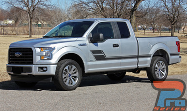 Ford Truck Side Decals and Stripes ELIMINATOR 3M 2015-2019