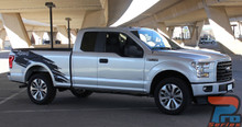 Ford F150 Vinyl Wrap Graphics TORN 2015 2016 2017 2018 2019