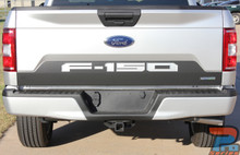 2018 Ford F150 Tailgate Letters Reverse Blackout Stripes 2018-2019