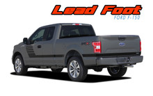 Ford F150 Truck Bedside Vinyl Graphics LEAD FOOT 2015-2019