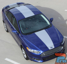 2014 Ford Fusion Center Wide Stripes OVERVIEW RALLY 2013-2019