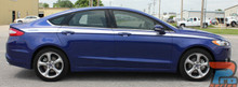 Ford Fusion Side Stripe Body Decals 2013-2019 TOPSIDE