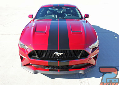 """2018 Ford Mustang Lemans Style Stripes 7"""" Wide 3M STAGE RALLY 2018 2019"""
