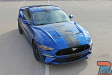 HYPER RALLY | 2018 Ford Mustang Center Graphics Stripes 3M