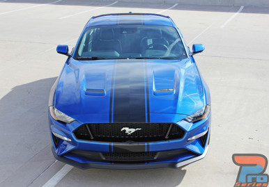 2019 2018 Ford Mustang Convertible Center Graphics HYPER RALLY 3M