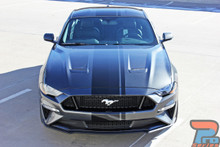 EURO RALLY | 2018 Ford Mustang Center Vinyl Graphic Stripe 3M