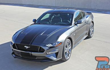 2018-2019 Ford Mustang Convertible Racing Stripe EURO RALLY