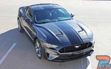 2018 Ford Mustang Racing Center Stripe EURO RALLY