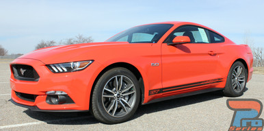 Ford Mustang Rocker Panel Stripes 2015 2016 2017 BREAKUP