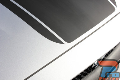 Ford Mustang Wide Top Stripe Decals MEDIAN 2015 2016 2017