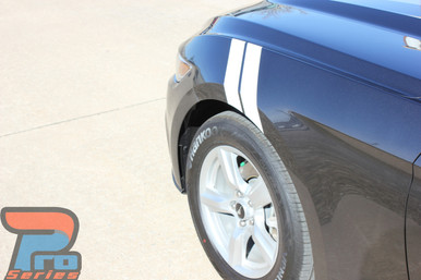 Ford Mustang Hash Marks Decals DOUBLE BAR 2015 2016 2017