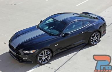 2016 Mustang Vinyl Stripes CONTENDER 3M 2015-2017